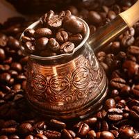 coffee on coffee