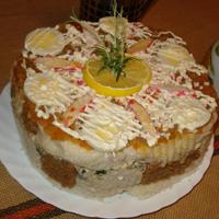Праздничные рецепты: хлебный ... торт